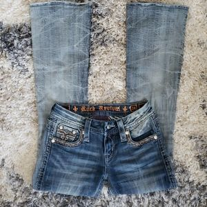 Rock Revival Betty Boot Cut Jeans.  Size 24.